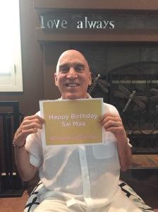 Swamiji celebrate Sai Maa 2
